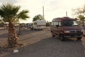 Black Rock RV Village, van