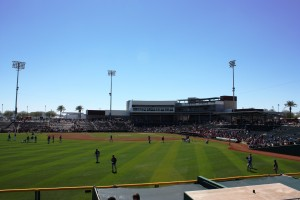 goodyear ballpark, stadium