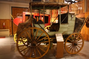 frontier homestead state park museum, carriage