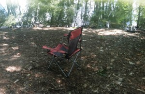 lakeside rv campground, chair