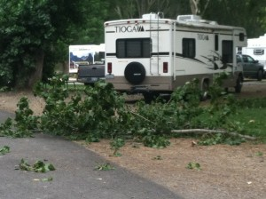 lakeside rv campground, branch