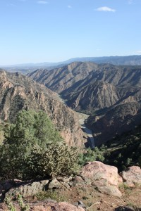 Royal Gorge, valley