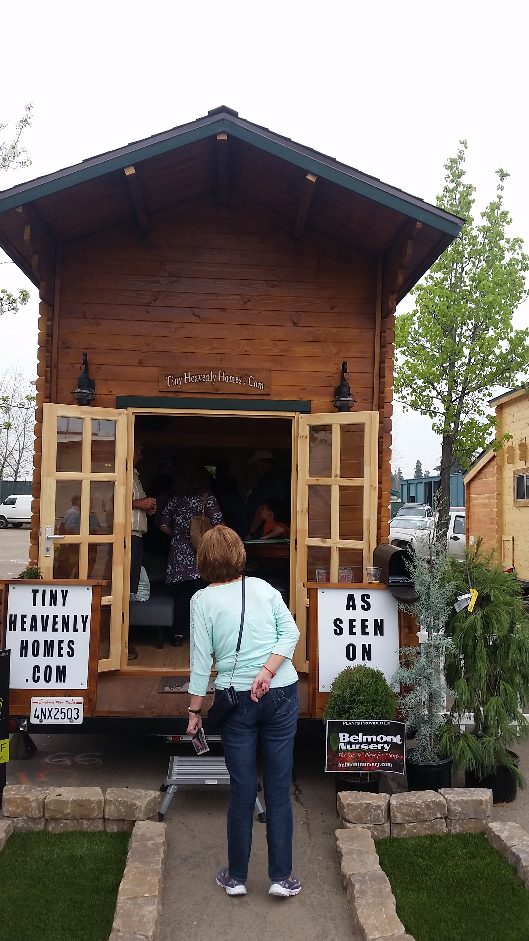 The Feature Attraction At The Fresno Home And Garden Show Is The U201cTiny  House Village.u201d This Is Where People Flock To Stand In Line And Tour A  Bunch Of Tiny ...